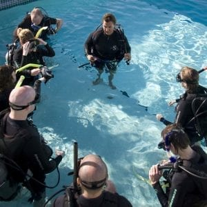 Pool Training Discover Scuba Diver