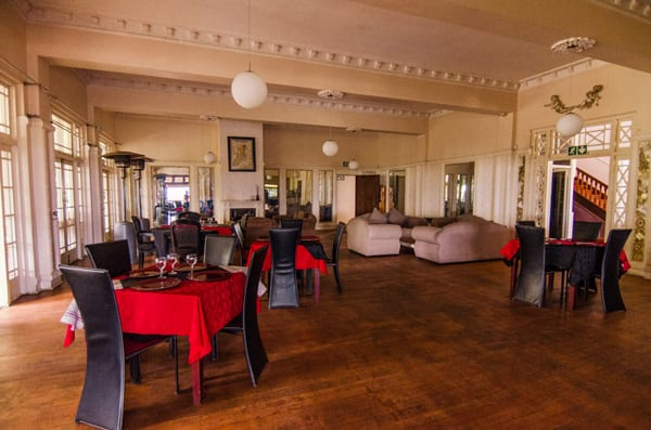 Blue Ocean Restaurant Interior